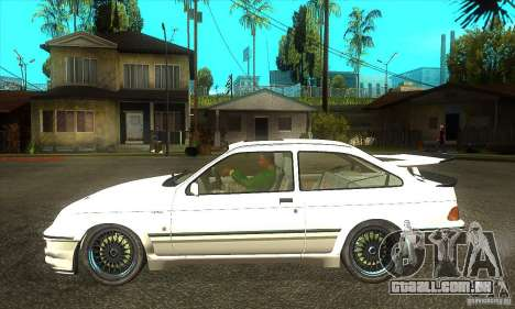 Ford Sierra RS500 Cosworth 1987 para GTA San Andreas vista direita