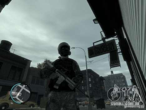 O M4a1 para GTA 4 terceira tela