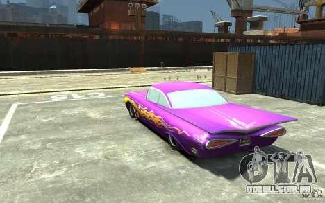 Raymone de carros Mater-National para GTA 4 traseira esquerda vista