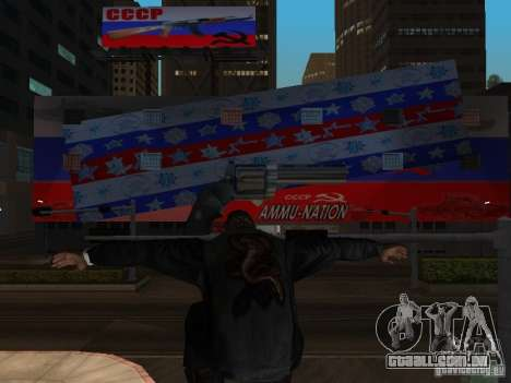 Russian Ammu-nation para GTA San Andreas terceira tela
