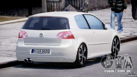 Volkswagen Golf GTI 2006 v1.0 para GTA 4 vista lateral