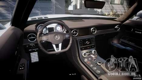 Mercedes-Benz SLS AMG 2010 [EPM] para GTA 4 vista de volta