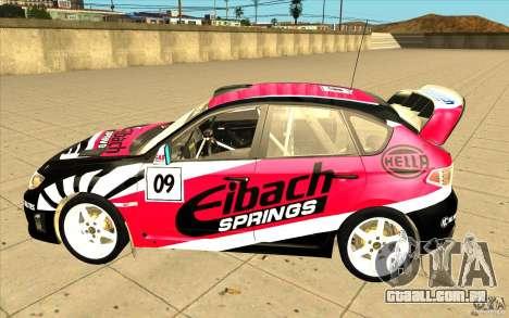 Novos vinis para Subaru Impreza WRX STi para as rodas de GTA San Andreas