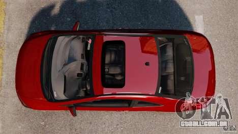 Honda Civic Si para GTA 4 vista direita