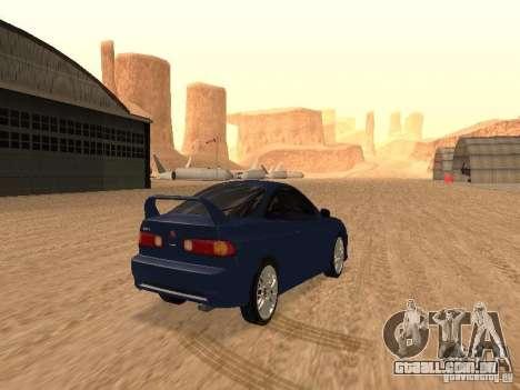 Acura RSX Light Tuning para GTA San Andreas vista direita