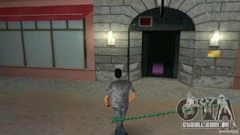 Oportunidade de introduzir os interiores para GTA Vice City por diante tela