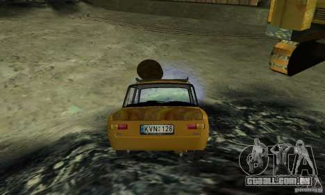 OLHAR DE RATO 2101 VAZ para GTA San Andreas esquerda vista