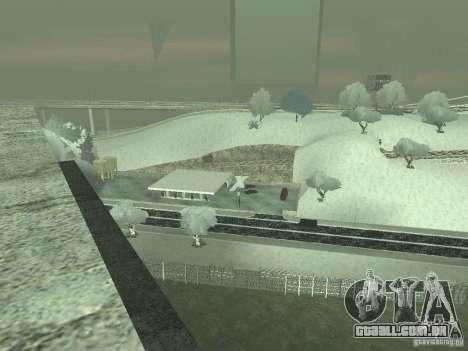 Neve v 2.0 para GTA San Andreas sexta tela
