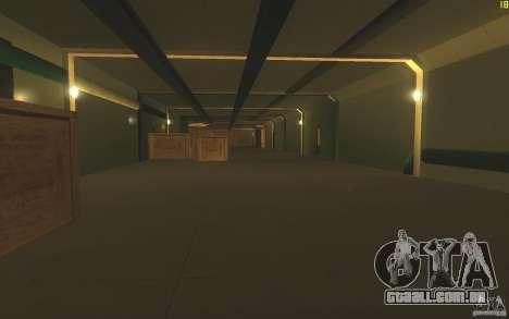 Porta-aviões V2 Final para GTA San Andreas por diante tela