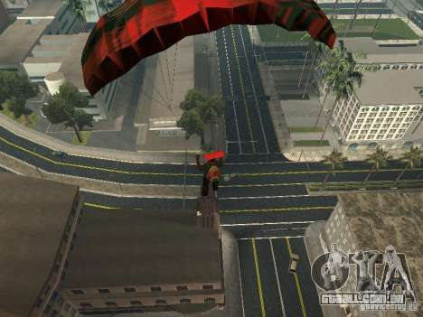 Novas estradas em Los Santos para GTA San Andreas quinto tela