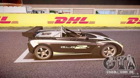 Lotus 2-11 para GTA 4 vista superior