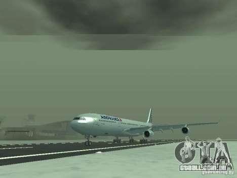 Airbus A340-300 Air France para GTA San Andreas