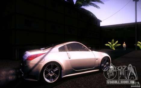 Nissan 350Z Fairlady para GTA San Andreas esquerda vista