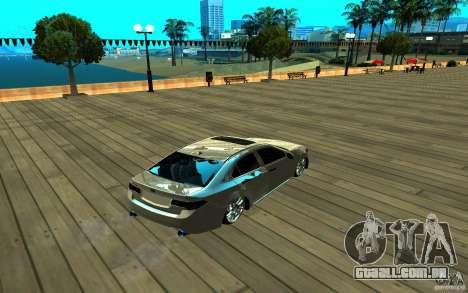 ENB para qualquer computador para GTA San Andreas sexta tela