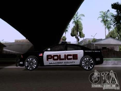 Dodge Charger SRT8 2011 V1.0 para GTA San Andreas esquerda vista