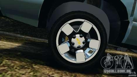 Chevrolet S-10 Colinas Cabine Dupla para GTA 4 vista superior