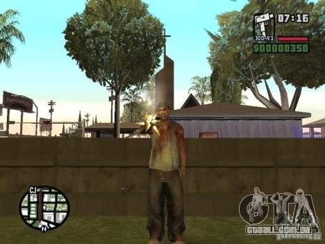 Markus young para GTA San Andreas nono tela
