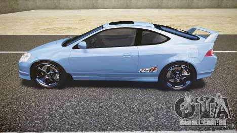 Acura RSX TypeS v1.0 Volk TE37 para GTA 4 esquerda vista