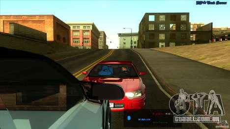 ENBSeries 0.75c para GTA San Andreas quinto tela