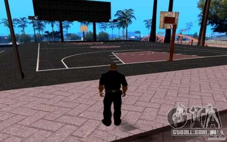 A nova quadra de basquete para GTA San Andreas segunda tela