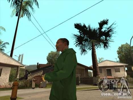 M4 de Call of Duty para GTA San Andreas terceira tela