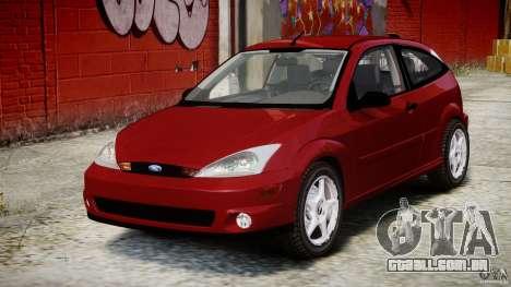 Ford Focus SVT para GTA 4 vista de volta