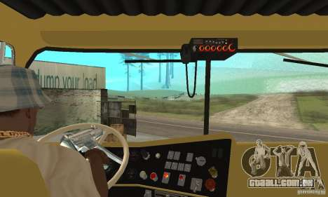 International Transtar II 1975 para GTA San Andreas vista direita