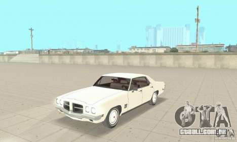 Pontiac LeMans 1971 para GTA San Andreas