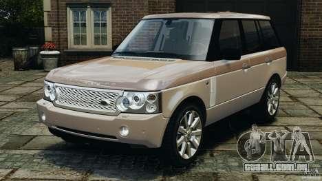 Range Rover Supercharged 2008 para GTA 4