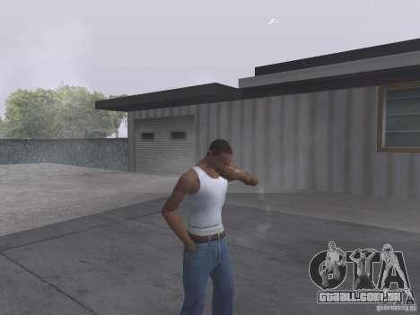 A capacidade de fumo para GTA San Andreas
