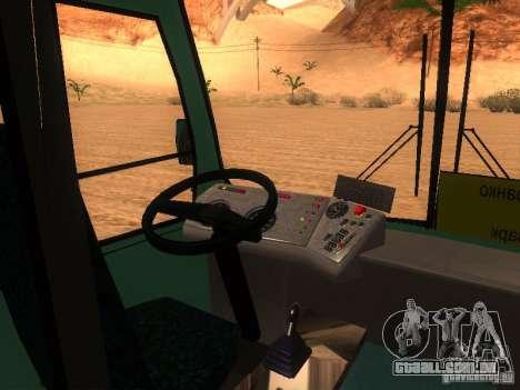 SULCO 3203 para GTA San Andreas vista interior