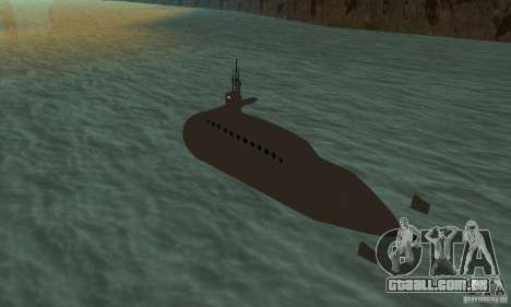 Uboot para GTA San Andreas