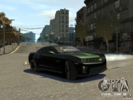 Chevrolet Camaro ZL1 v1.0 para GTA 4
