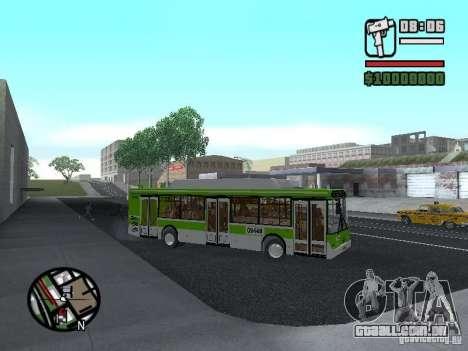 LIAZ 5292.70 para GTA San Andreas vista traseira