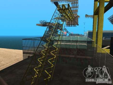 Huge MonsterTruck Track para GTA San Andreas