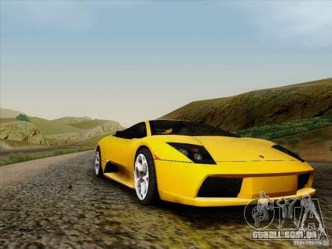 Lamborghini Murcielago LP640-4 para GTA San Andreas esquerda vista