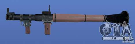 RPG Texture para GTA 4 terceira tela