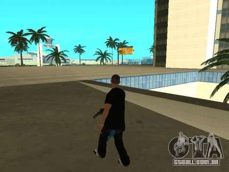 Black Rifa SkinPack para GTA San Andreas por diante tela