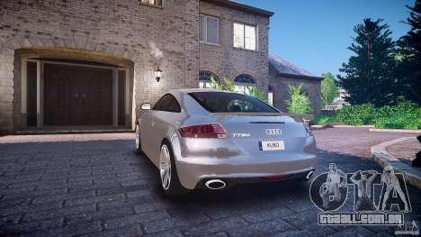 Audi TT RS 2010 para GTA 4 rodas