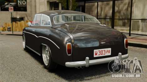 Syrena Coupe V8 para GTA 4 traseira esquerda vista
