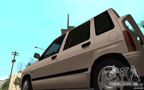 Daewoo Tico SX para GTA San Andreas vista traseira