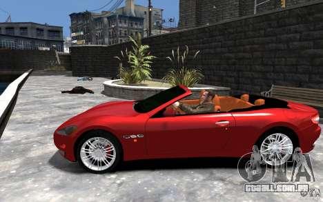 Maserati GranCabrio para GTA 4 esquerda vista