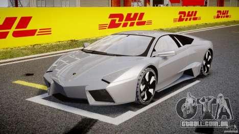 Lamborghini Reventon v2 para GTA 4 vista de volta
