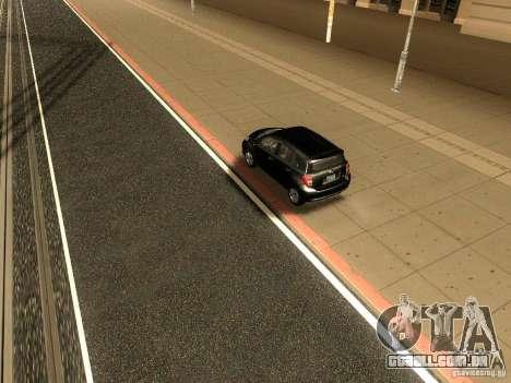 Scion xD para GTA San Andreas vista traseira