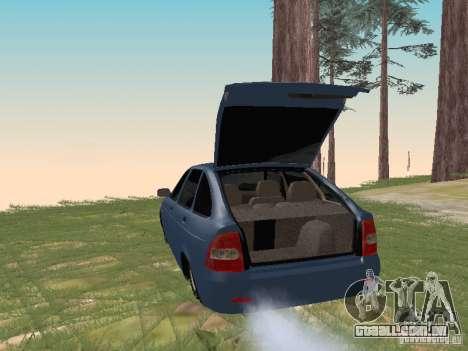 LADA 2170 Hatchback para GTA San Andreas vista direita