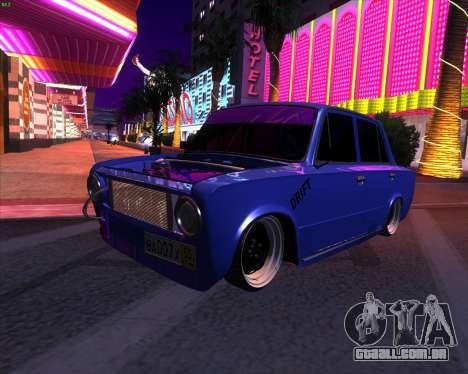 Carro de Drift 2101 VAZ para GTA San Andreas
