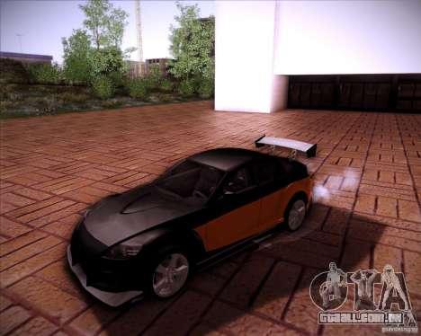 Mazda RX-8 para GTA San Andreas vista superior