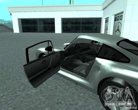 PORSHE 959 para GTA San Andreas traseira esquerda vista
