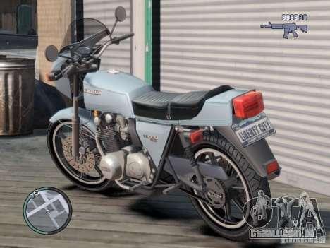 Kawasaki Z1-R para GTA 4 traseira esquerda vista