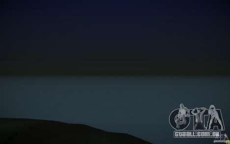 Água HD v 3.0 para GTA San Andreas por diante tela